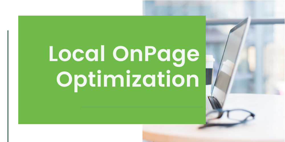 Local OnPage Optimization